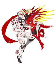 Overwatch Genji x Mercy | Tumblr