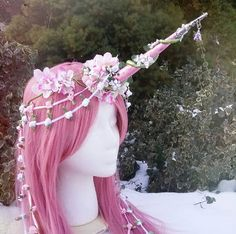 Image result for unicorn and flower hat