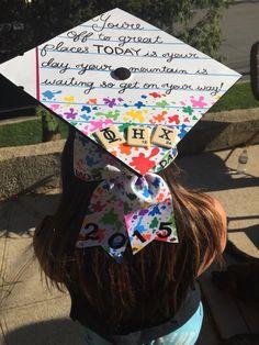 Art Paint splatter teacher graduation cap