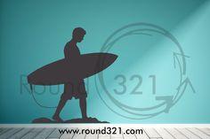 Round321.com boy surf decal
