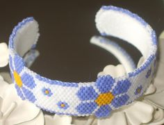 Forget Me Not Cuff | Flickr - Photo Sharing!