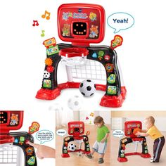 Developmental Baby Toys Smart Shots Sports Center Educational Toddler New