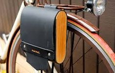 Image result for wood panniers