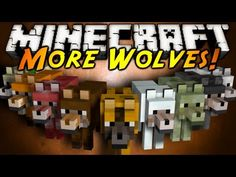 Minecraft Mod Showcase : MORE WOLVES! SCREEEAAAM!!!!!!!!!!!! MINECRAFT SERIOUSLY CANNOT GET ANY BETTER!!!