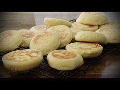 Bread Recipes - How to Make English Muffins - YouTube