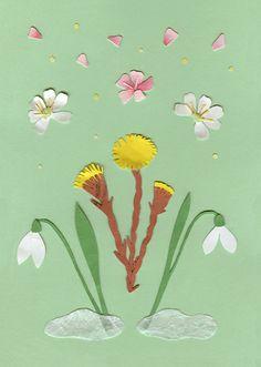 Spring illustration by Maja K Zetterberg from http://www.majazetterberg.com