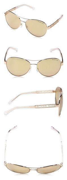 922580d83d3a Amazon.com: Michael Kors Cagliari Sunglasses MK5003 1003R1 Rose Gold Rose  Gold Flash 60 16 135: Michael Kors: Sports & Outdoors
