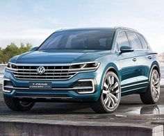 2018 VW Touareg is likely to get a full redesign, in the same way as T-prime concept car. The release date of the SUV expected in mid-2017.