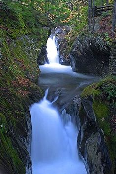Texas Falls - Waterfalls of the Northeastern United States