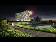 [ Vray for Sketchup ] Making of night view Exterior Part 1 Lighting - YouTube