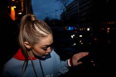 Gigi Hadid || Capsule Collection Tommy X Gigi Spring 2017, Paris Fashion Week (February 28, 2017)