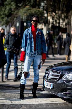 Paris Fashion Week Street Style Fall 2018 Day 8 - The Impression