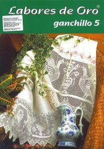 Labores de Oro Ganchillo 5   Doilies, centerpieces, edgings, etc
