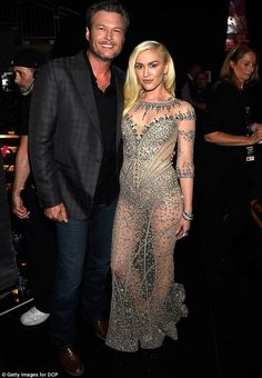 Settle Down: Gwen Stefani and Blake Shelton are planning to get married, according to a new report. They are pictured last month at the Billboard Music Awards