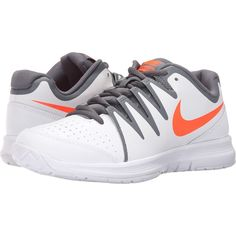 finest selection ec81e 07203 Nike Vapor Court (White Total Crimson Dark Grey Black) Men s Tennis