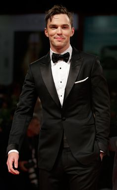 Nicholas Hoult from 2015 Venice Film Festival: Star Sightings At the premiere of Equals, the actor is just as handsome as ever in Tom Ford.
