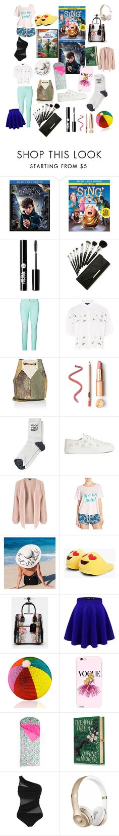 """""""Sleepover 🕗"""" by debbie-riley ❤ liked on Polyvore featuring Charlotte Russe, Ralph Lauren, Topshop, Jérôme Dreyfuss, Simone Rocha, Miss Selfridge, Honeydew Intimates, Boohoo, Ted Baker and Judith Leiber"""