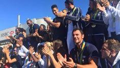 Un accueil olympique pour le Boulonnais Maxime Beaumont et les médaillés à Roissy http://vdn.lv/u86AgT