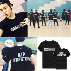 k pop KPOP BTS 2015 LIVE TRILOGY Album T Shirt K-POP 2016 Fashion Classic Solid Cotton Clothes Short Sleeve T-shirt DX325