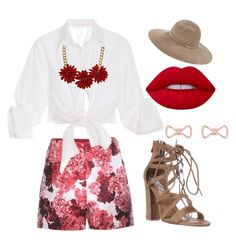 """""""Spring is the new FASHION"""" by fernanda-h-frayre on Polyvore featuring moda, Moncler Gamme Rouge, Johanna Ortiz, Topshop, Eugenia Kim y Ted Baker"""