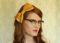 Yellow Headband : http://www.etsy.com/listing/79923049/miss-molly-mustard-yellow-satin-bow