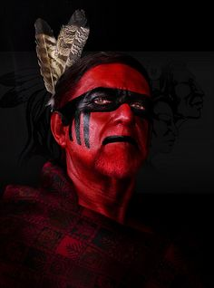cherokee face paint - Google Search