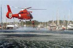 Coast Guard rescuers