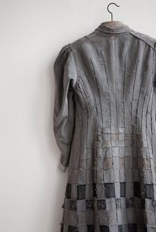 Weaving Detail on Coat