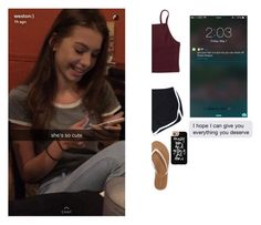 """""""""""I won't give up on us."""" - Erin"""" by cecilia-bella ❤ liked on Polyvore featuring beauty, Aéropostale and Casetify"""