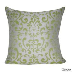 Loom and Mill 22 x 22-inch Damask Decorative Pillow