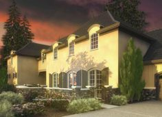 Mascord House Plan 2446 - The Toussaint Great multi generational home!