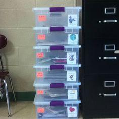 Common core unit boxes!