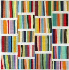 For E? - Digital A Different Stripe Quilt + Sham Pattern | Shop | Oliver + S