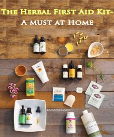 The Herbal First Aid Kit- A Must At Home