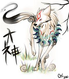 Okami Warrior Cats Comics, Cat Comics, Cartoon Wolf, Japanese Mythology, Wolf Pictures, Amaterasu, Kokoro, All Anime, Nintendo Games