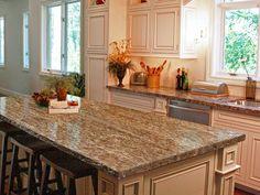 WOoooop, wooooop! Love it!  How to Paint Laminate Kitchen Countertops : Home Improvement : DIY Network