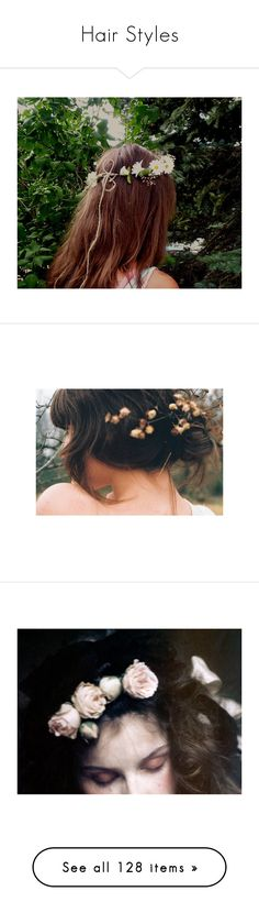 """""""Hair Styles"""" by lost-in-pxrxdise ❤ liked on Polyvore featuring pictures, hair, photos, backgrounds, people, fillers, pics, images, beauty products and haircare"""