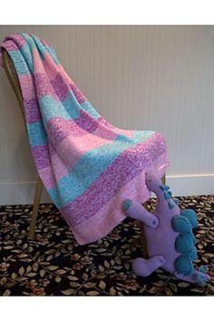 Ravelry: F630 Blanket pattern by Plymouth Yarn Design Studio