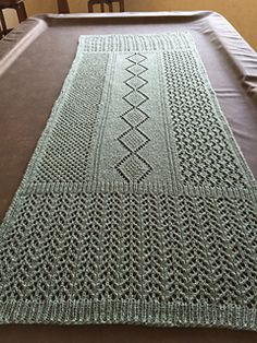 Ravelry: Lace Blanket Shawl pattern by Denise Twum