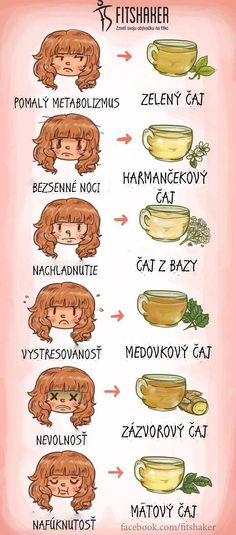 Nachladnutie, stres, nevoľnosť? Takmer na každý problém existuje bylinkový čaj, ktorý ti pomôže. Vyskúšaj ;-)