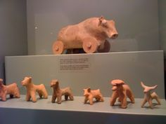 Ancient clay toys