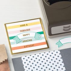 Thoughtful Banners Photopolymer Bundle by Stampin' Up!