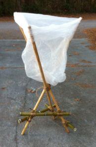 Simple Self Standing Trash Bag Holder