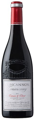 Concannon Conservancy Crimson and Clover: According to the winemaker, Crimson and Clover is a silky red blend with aromas of nutmeg, mocha and coconut that lead into bright fruit flavors of blackberry, ripe cherry and plum on the palate.