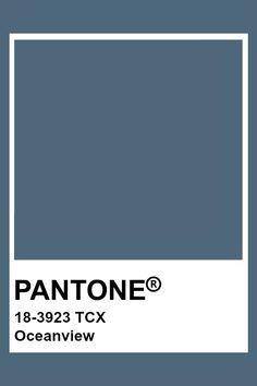 PANTONE 18-3923 TCX Oceanview Pantone Tcx, Pantone Swatches, Color Swatches, Pantone Colour Palettes, Pantone Color, Colour Schemes, Color Patterns, Textiles, Pantone Paint