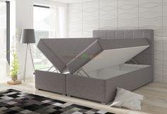 Łóżko tapicerowane kontynentalne Bolero 160x200 lub 180x200 - ELTAP - sklep meblowy Meble BIK