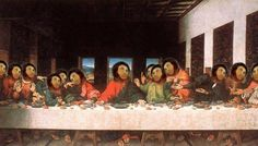 Last Supper w/ Ecce Homo