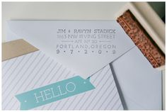 Another return address stamp idea