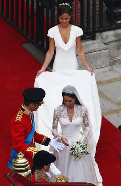 Dedicated to The Duke and Duchess of Cambridge, Prince George of Cambridge, Princess Charlotte of Cambridge and Pippa Middleton. Pippa Middleton Wedding Dress, Princess Kate Middleton, Kate Middleton Prince William, Kate Und William, Prince William And Catherine, Royal Brides, Royal Weddings, Royal Wedding 2011, William Kate Wedding