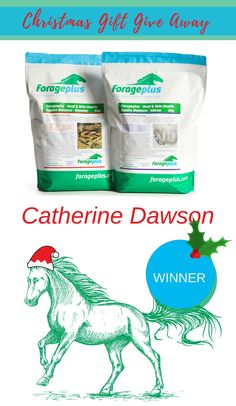 Join the Forageplus Whole Horse Health email community and be entered into our prize draws. Xmas prize draw DAY ONE WINNER
